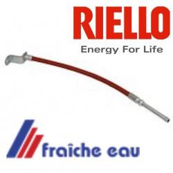 cable de cellule , fibre optique 3002604 RIELLO  transmets la lumière de la flamme jusqu'à la cellule