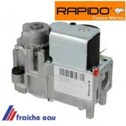 bloc gaz HONEYWELL RAPIDO VK 4100 C 1042 B pour chaudière atmosphérique non modulante