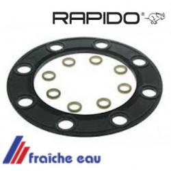 joint 550054 de trappe de visite de boiler RAPIDO  DIBO 150 T avec rondelles, flanschdichtung für tief-warmwasserspeicher