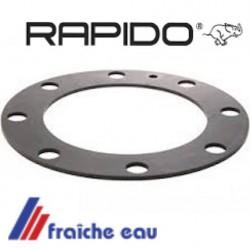 joint  de regard  170 x 115 mm  de boiler RAPIDO 550099, flanschdichtung 8  loch für warmwasserspeicher  DIBO FERROLI