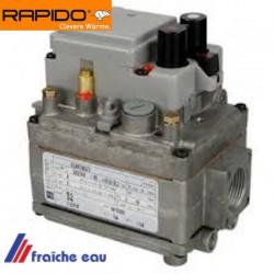 bloc , vanne gaz RAPIDO 503778 pour chaudière gaz GA 100  bloc gaz SIT 810 type  0810200