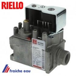 vanne , bloc gaz RIELLO type 4R 000835 pour chaudière murale à condensation RESIDENS  CONDENS IS  BE