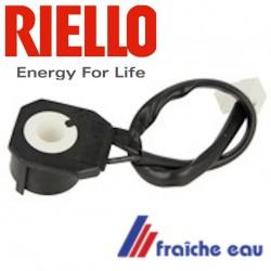 bobine d'électrovanne magnétique 3007481 RIELLO, permets le déplacemenr du noyau d'électro vanne de pompe