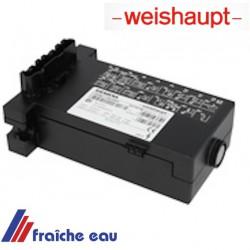 relais , manager de combustion fuel, bloc électronique WEISHAUPT W FM 05 Ölfeuerungsautomat