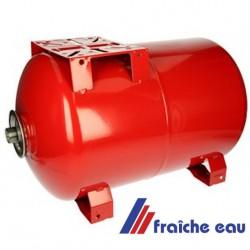 vase d'expansion 80 litres VAREM pour groupe et pompe  hydrophore avec support de pompe , raccordement 3/4
