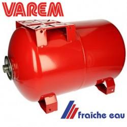 vase d'expansion à membrane butyle qualité alimentaire  pour application sanitaire 60 litres à placer en dessous de la pompe