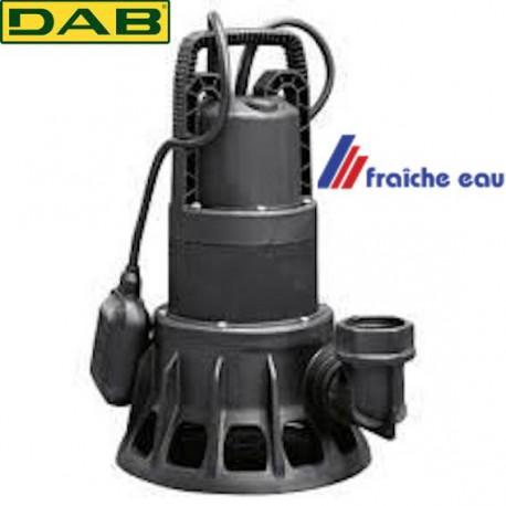 pompe avec flotteur DAB FEKA BVP 750 MA , pompe de relevage pour le pompage et l'évacuation  des eaux chargées