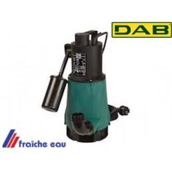 pompe vide cave avec flotteur pour le relevage des eaux légèrement chargée DAB FEKA 600, fonctionnement automatique