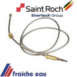 thermocouple pour veilleuse de chaudière SAINT ROCH  gas ciney et couvin , veilleuse permanente zaegel held