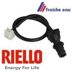 cellule analogique photo sensible RIELLO article 3007839, détection de flamme du brûleur fioul, capteur de lumière