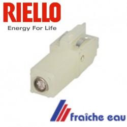 cellule RIELLO 3002280 à enficher n'existe plus , détection de la flamme du brûleur par cellule photo sensible