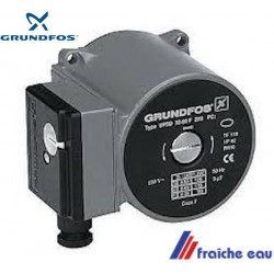 moteur de circulateur GRUNDFOS  UPS ROTEX à 3 vitesses 100% compatible avec une pompe conventionnelle