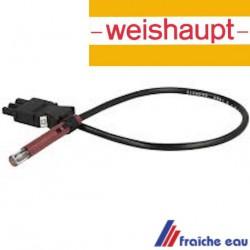 cellule WEISHAUPT type  QRB 1 B avec fiche 3 pôles , connecteur n° 13 pour brûleur WL 5 WL 20