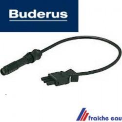 détection de la flamme par ultra violet type QRC1A1 BUDERUS  de brûleur mazout , fiche de logement spécifique à la marque