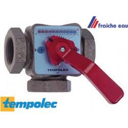 """vanne mélangeuse TEMPLOLEC  à  3 voies , raccordements 5/4"""""""
