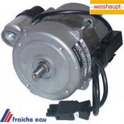 moteur de brûleur  WL 5 à mazout  WEISHAUPT  type ECK -02 ,réf: 24005005012 fourni avec condensateur de démarrage