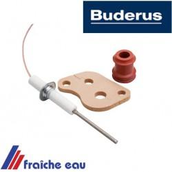 sonde , électrode d'ionisation BUDERUS 7100238, détection de la flamme par courant ionisant