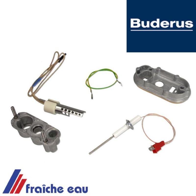 Buderus Vainqueur Électrode de Ionisation 7100239 GB 122 132 Surveillance 162