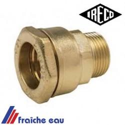 """raccord pour tube polyéthylène diamètre 30 mm filetage 4/4"""""""