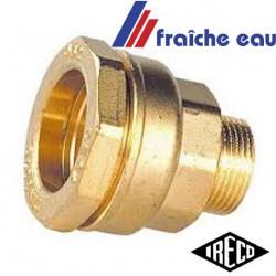 raccord à serrage, connexion  PE diamètre 34 mm filetage 4/4 pour eau potable