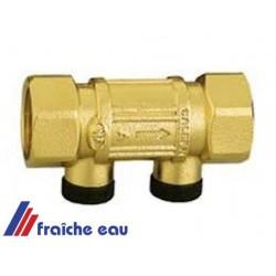 anti retour à ressort laiton 1/2 pour l'eau potable jusque 80 degrés , agréation belgaqua