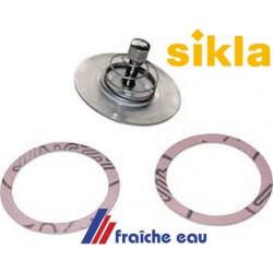 anti circulation à contre sens, flow valve, anti retour à insérer dans l'écrou du circulateur  il empêche le thermo siphon