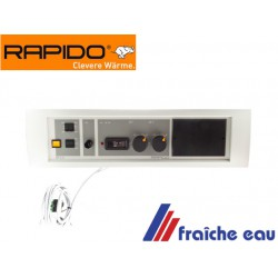 tableau de commande de chaudière RAPIDO SP 1,2 bloc, panneau de contrôle 008356 pièce d'origine, fin de stock  ,