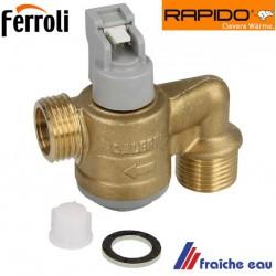 capteur de débit , débistat RAPIDO 551090 , détecteur d'eau  de chaudière à condensation à Courcelles, gosselies, trazegnies,