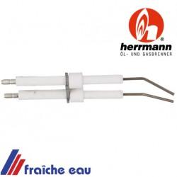 elettrode d'allumage haute tension article : 1002500001 HERMANN pour brûleur HL 60 au fioul