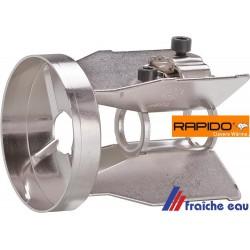 accrocheur de flamme, diffuseur, RAPIDO  550858 avec 4 fentes, déflecteur HERRMANN de brûleur à mazout