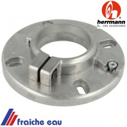 bride de fixation du brûleur HERRMANN HL 50  article 29055090, collet de fixation du brûleur