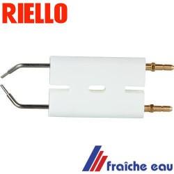 electrode d'allumage RIELLO 3007495 bougie haute tension, électrode spécifique de brûleur