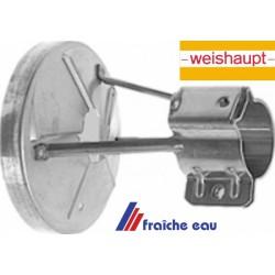 déflecteur , accrocheur de flamme WEISHAUPT 24120014172 pour brûleur WL 5 , melangeur de combustion dans le geulard