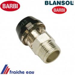"""connection BLANSOL x press par auto sertissage  3/4""""M x pex 26 x 3 mm ,multiskin à Andenne, tubize, Enghien, angleur"""