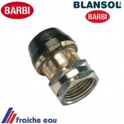 raccord express  automatique BLANSOL 1/2F  pour tube ALPEX  16 x 2 mm auto sertissage , brevet BARBI à houdeng, ronquieres