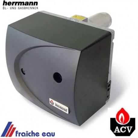 brûleur mazout avec préréglages ACV BMV 1, gicleur 0,60 gal /h puissance préréglée d'usine 24 kw
