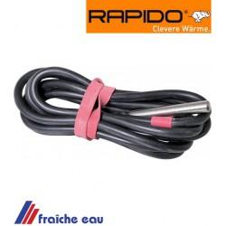 sonde , capteur de température RAPIDO 012827 solarfulhler, temperaturfuhler PT1000