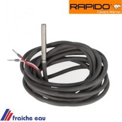 sonde chauffe eau sanitaire, capteur  température RAPIDO 009975 type KVT 1000 pour chaudière econpact ,Ersatzteil speicherfühler