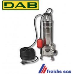 pompe de refoulement pour eaux chargées DAB, pompe de relevage submersible pour les eaux fécales  FEKA 750 MA