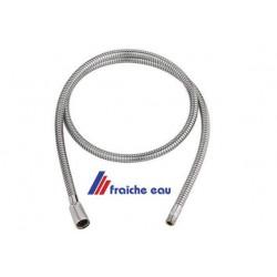 flexible universel de robinet, douchette de cuisine,  tressage ichrome M 15 x 1/2 longueur 120 cm