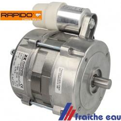moteur de brûleur à mazout avec condensateur HERRMANN  RAPIDO  BF100 - BF110