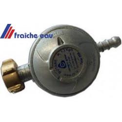 détente 37 mbar pour un seul appareil au gaz , détente finale unique, débit 1,5 kgs / h  ex: cuisinière, taque au gaz