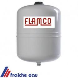 vase d'expansion solaire 12 litres, résiste au glycol ,  FLAMCO / VAREM , vessie butyle, pour le  solaire thermique