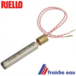 préchauffage de ligne RIELLO brûleur fuel 3005773 MECTRON 40 - ø 10,  réchauffeur de ligne bougie de préchauffage