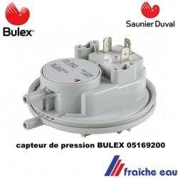 capteur de pression / pressostat , détecteur de pression ,sécurité manque d'eau de chaudière  BULEX   05169200