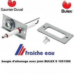 bougie d'allumage BULEX - SAUNIER DUVAL :  S 1051500 , détection de la flamme par ionisation, bougie de contrôle