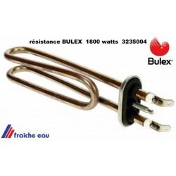 résistance blindée boiler BULEX 1800 watts  mono 3235004, résistance immergée de chauffe eau électrique