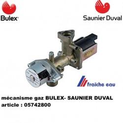 operateur / mecanisme /bloc gaz G20 BULEX  SAUNIER DUVAL   05742800  bloc de régulation gaz, vanne de régulation gaz