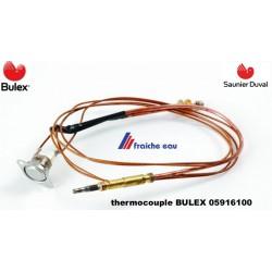 thermocouple BULEX- SAUNIER DUVAL 05916100  avec capteur de température par contact , clikson de sécurité