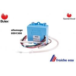 allumage automatique BULEX 0591300  bloc de commande , allumage récurent SAUNIER DUVAL avec cablage